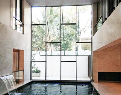 Modern Contemporary House - Koregaon Park, Pune