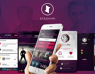 Stashimi Mobile App