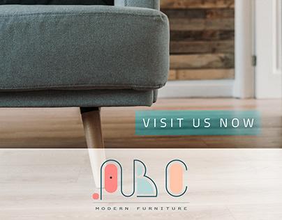 ABC FURNITURE Logo & Branding Design
