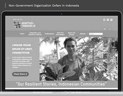 WEB DESIGN OXFAM