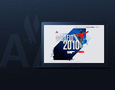 American Airlines _ Web Design