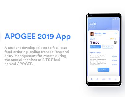 APOGEE 2019 App