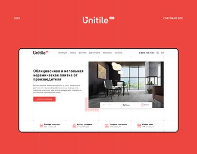 Facing and ceramic tiles - Corporate site