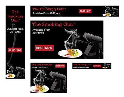Smoking Gun Web Banners Campaign