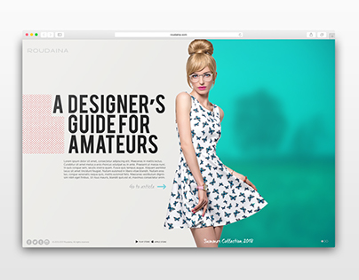 Fashion - Full page slider
