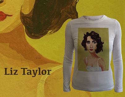 Elizabeth Taylor by Emma Ridgeway