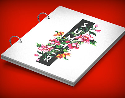 notebook mock-up