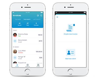 Invoicing app for iOS
