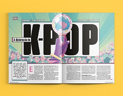 [Diagramação] A diplomacia do K-Pop