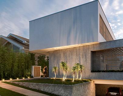 (CGI) GF house (for Amaury Neto Paisagismo)