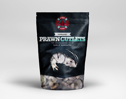 Packaging Design for Ocean Piper Seafoods