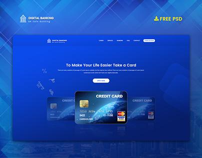 Free Credit Card Landing Page