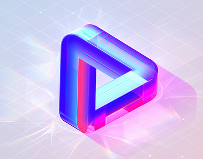 a brief logo animation