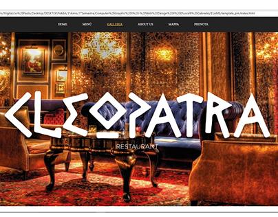 CLEOPATRA | Realizzazione sito web Responsive