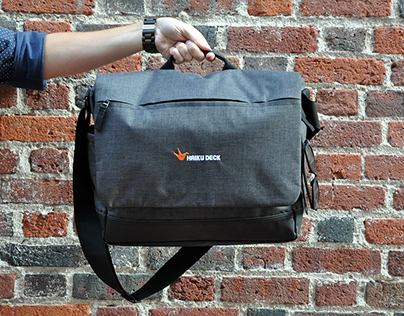 Heritage Supply Tanner Messenger Bag