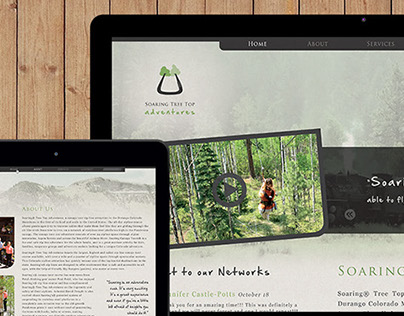 Soaring Tree Top Logo Design, Branding, and Web Design
