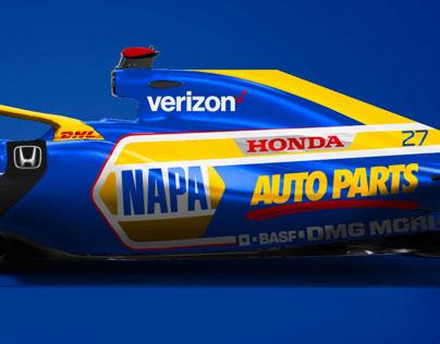 Napa Honda F1 Livery Concept