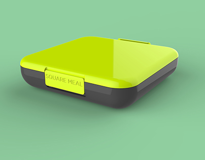 Square Meal - A Modern Day Tiffin Box