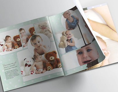 Family Memories Photobook Template - 30x30cm