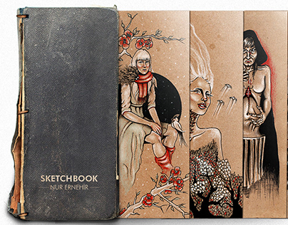 Kraft Sketchbook //