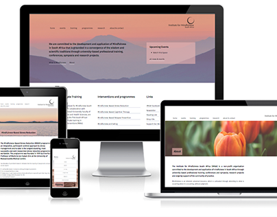 Mindfulness Institute website design & development