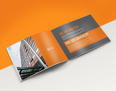 Brochure: Faculty of Designs / Hoa Sen University