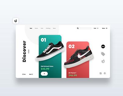 👟 Show Web Design