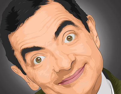 Mr Bean Vector Art