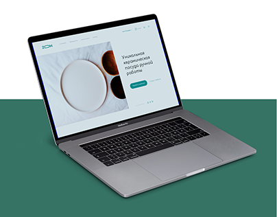 Website for the store of ceramic dishes