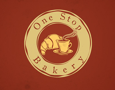 One Stop Bakery Branding