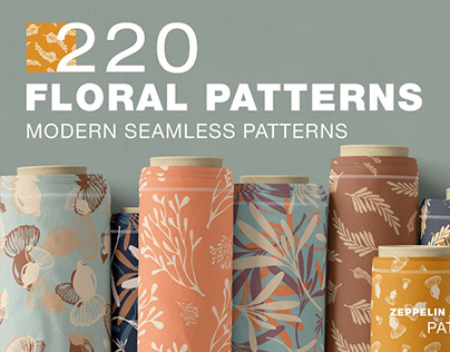 220 Floral Seamless Patterns
