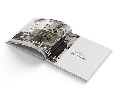Coffee Table Book Design - MISA