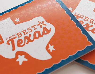 Best of Texas Event Identity