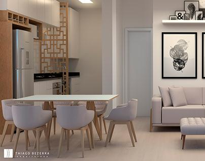 Projeto de interiores apartamento