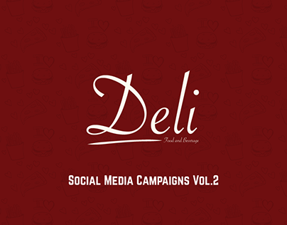 Deli takeaway Social Media Campaigns Vol.2