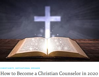 How to Become a Christian Counselor