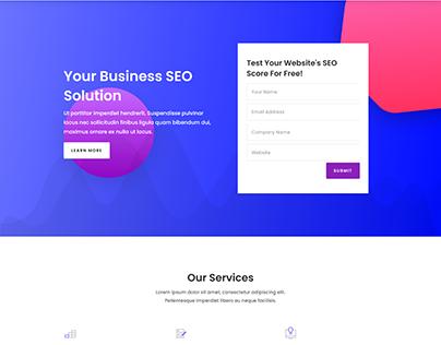 SEO Agency Website