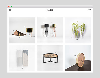 Shelf Online Shop