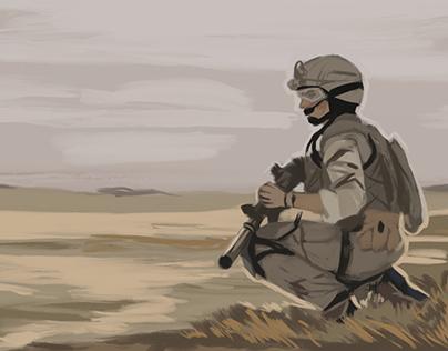 Soldier - Photo Study