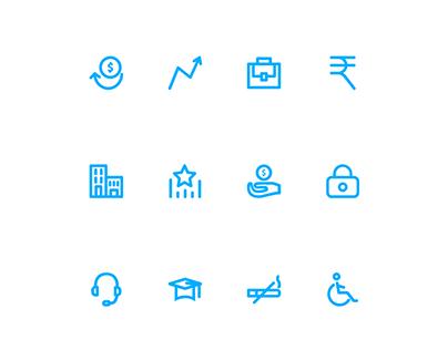 AegonLife – Icons & Bootstrap UI