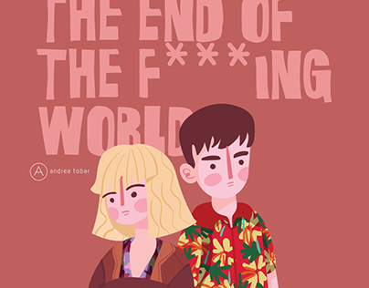 The end of the f***ING world illustration