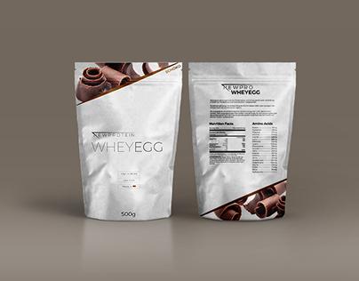 Wheyegg Protein - Packaging Design