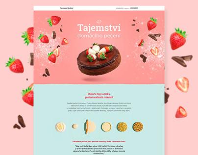 Website design for Seznam Native - Kenwood