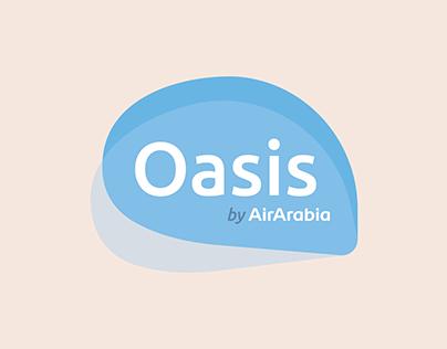 Oasis by AirArabia // Premium Airline Brand