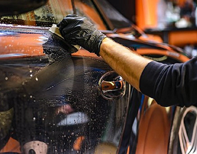 Car wash at Vidya vihar