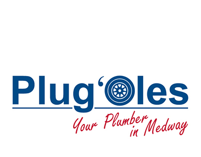 """Logo design for a local plumbing business """"Plug'Oles"""""""