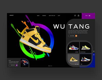 StackZ - Wu Tang Edition Ui/Ux Design Concept