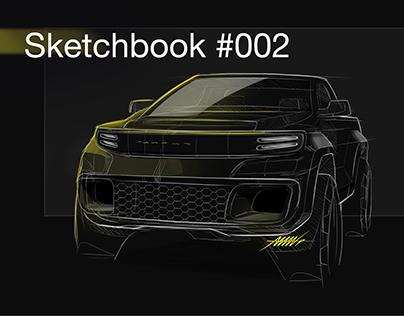 Automotive Sketches/Renders #002