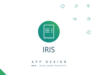 IRIS Intelligent Receipts | App Design