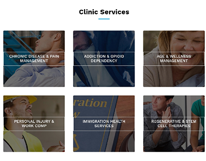 Business Services Responsive Website Layout